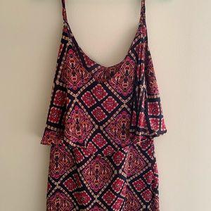 Silky swing dress